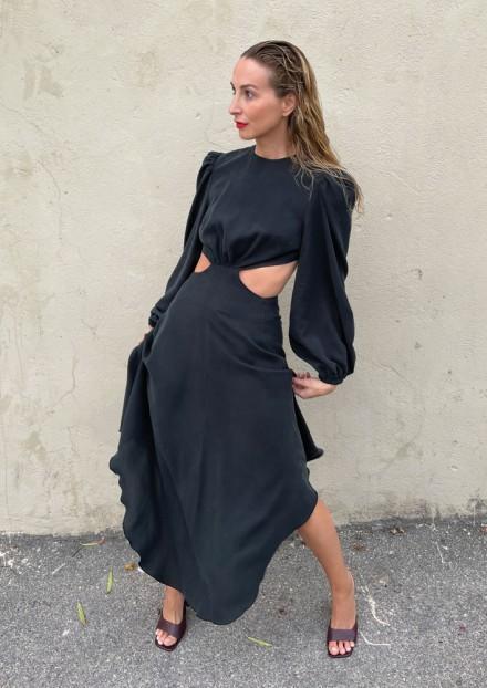 Robe Rosa - Noir