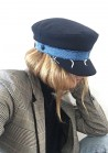 Navy Cap x Blue Denim